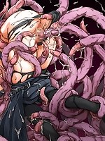 Hentai tentacle monster sex pictures