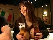 Big roung japanese Asian boobs